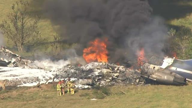 Un avion civil transportant 21 personnes s'écrase au Texas, toutes rescapées