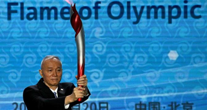شعلة دورة ألعاب بكين الأولمبية الشتوية 2022 تصل إلى الصين