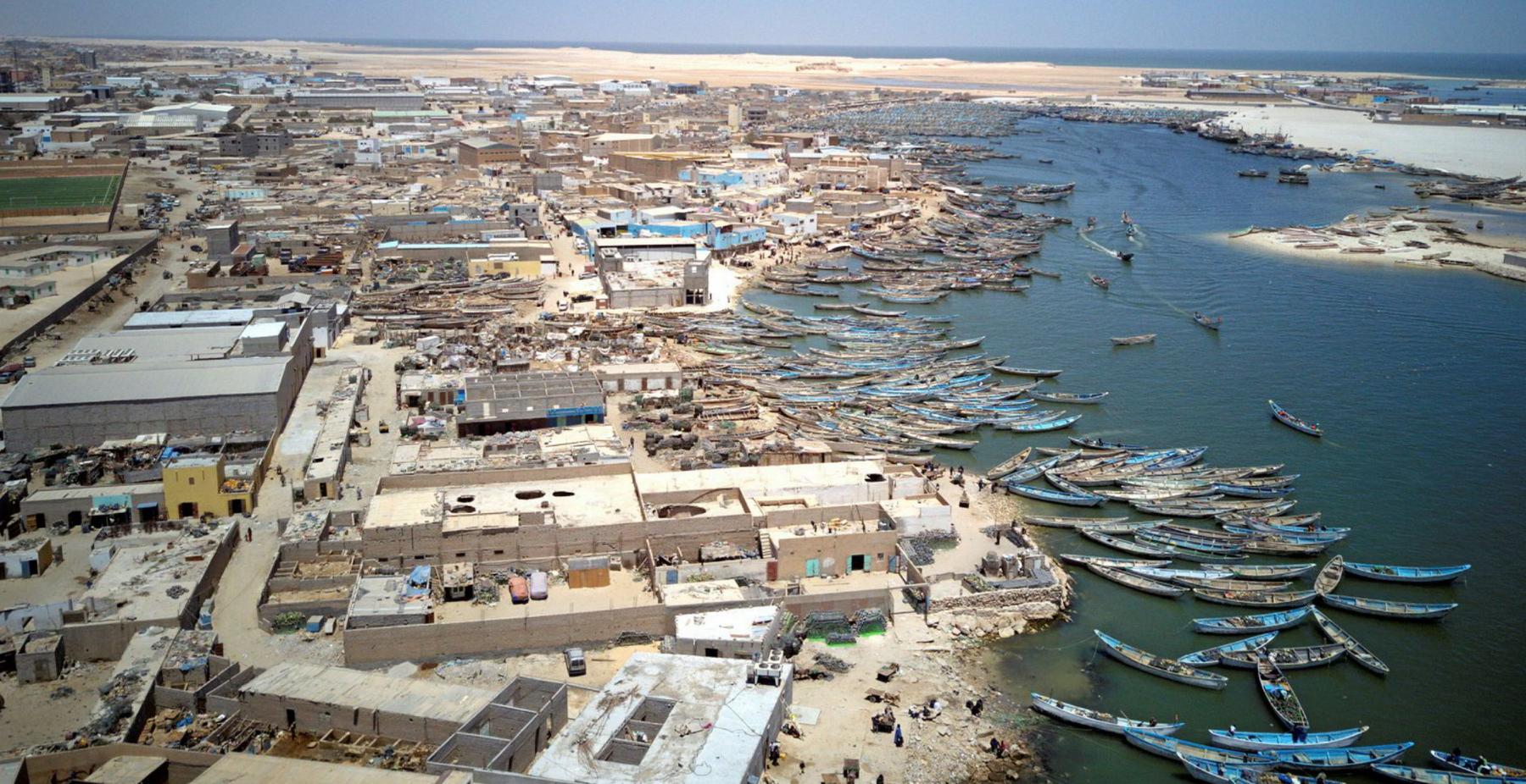 التبادل التجاري بين المغرب وموريتانيا عبر نواذيبو