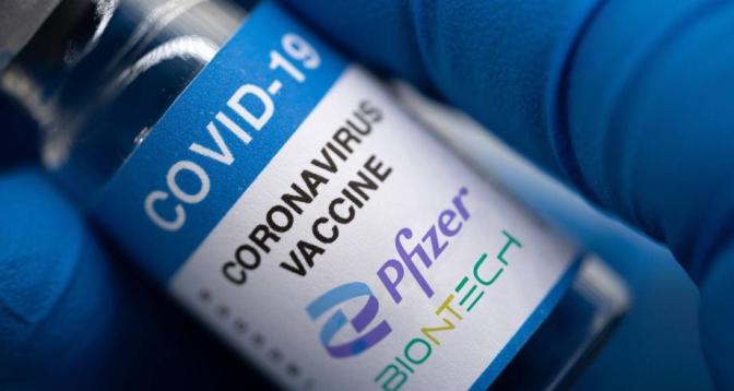جرعة ثالثة من لقاح فايزر-بايونتيك ضد كوفيد-19 فعالة بنسبة 95,6%
