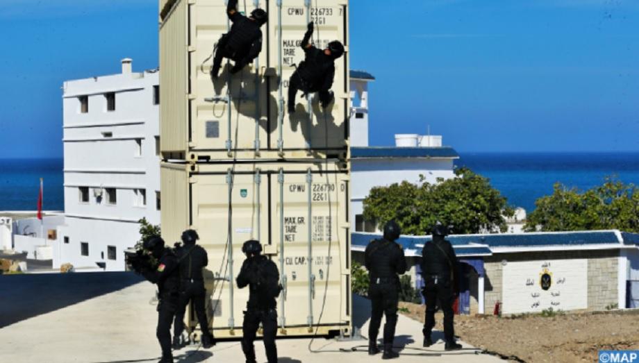 Ksar Seghir: L'École de plongée de la Marine Royale se dote d'une tour multifonctionnelle d'entraînement