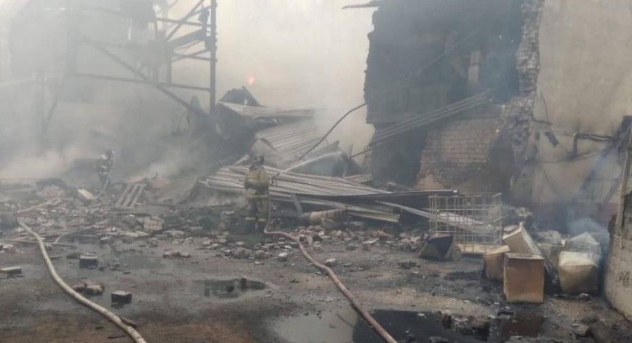 سبعة قتلى وتسعة مفقودين في حريق مصنع في روسيا