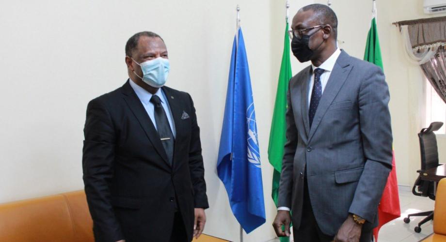 وزير الخارجية المالي يتباحث مع سفير المغرب عميد السلك الديبلوماسي ببماكو