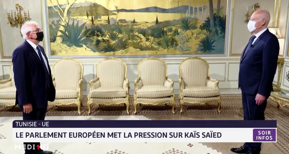 Tunisie-UE: le parlement européen met la pression sur Kais Saïed