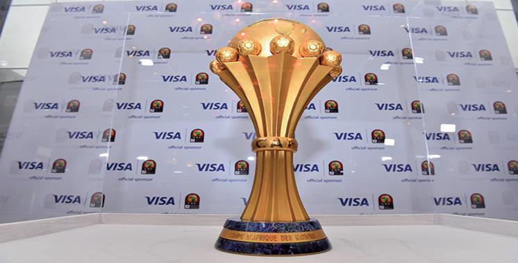 Le trophée de la CAN fait escale au Maroc