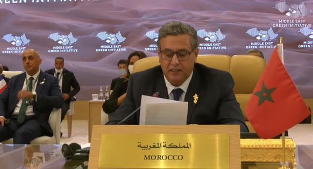 أخنوش:المغرب اعتمد مقاربة مندمجة للانتقال إلى اقتصاد أخضر