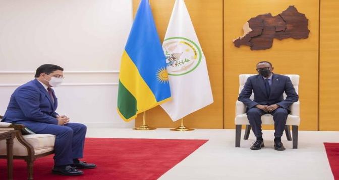 كيغالي .. الرئيس الرواندي بول كاغامي يستقبل بوريطة
