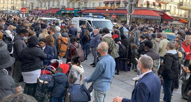 Une gare de Paris évacuée après une alerte à la bombe