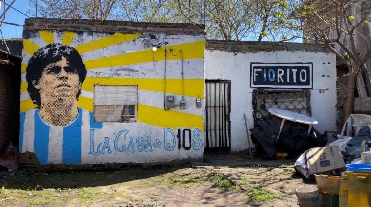 """إعلان مسقط رأس الأسطورة مارادونا """"موقعا تاريخيا وطنيا"""""""