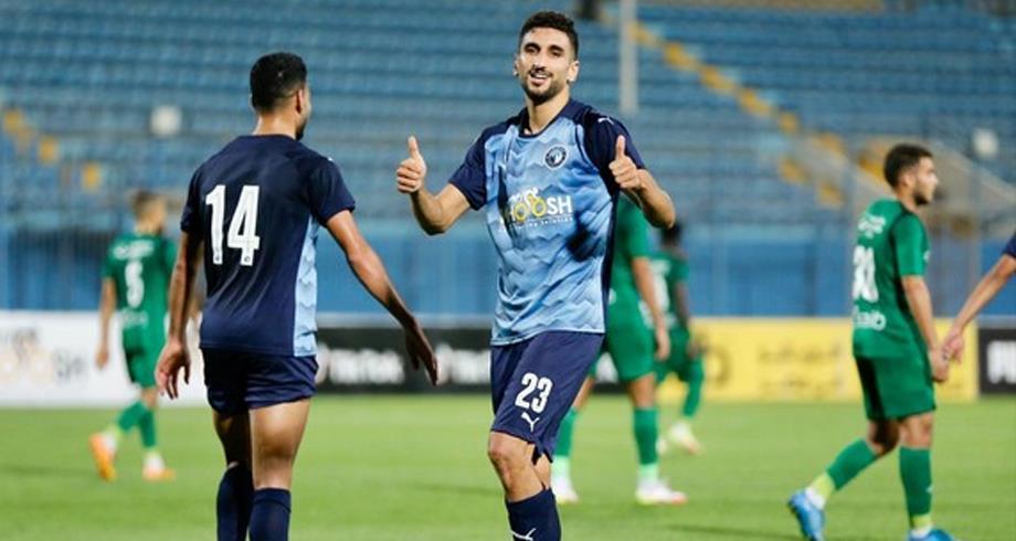 """Championnat d'Egypte: Walid El Karti signe un doublé pour son premier match avec """"Pyramids"""""""