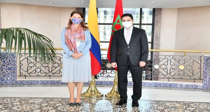 Bourita s'entretient à Rabat avec la vice-présidente de Colombie