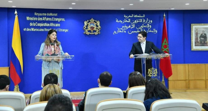 La Colombie étend la juridiction consulaire de son ambassade au Royaume sur tout le territoire marocain, incluant le Sahara