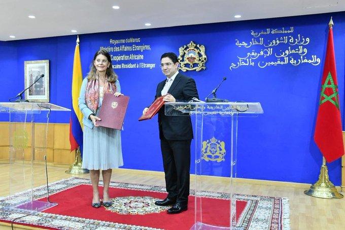 المغرب وكولومبيا يجددان التزامهما بمواصلة تعزيز علاقاتهما في مختلف المجالات