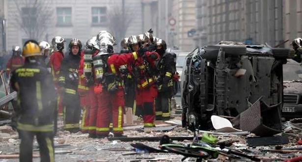 سقوط عدد من الجرحى في انفجار مخبز وسط باريس