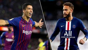 """سواريز يؤكد أن نيمار """"مرحب به دائما"""" في برشلونة"""