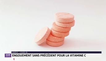 Covid-19: engouement sans précédent pour la vitamine C