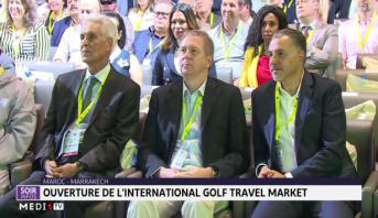 Ouverture de l'international Golf Travel Market à Marrakech
