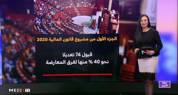 ملف .. البرلمان يصادق على الجزء الأول من مالية  2020