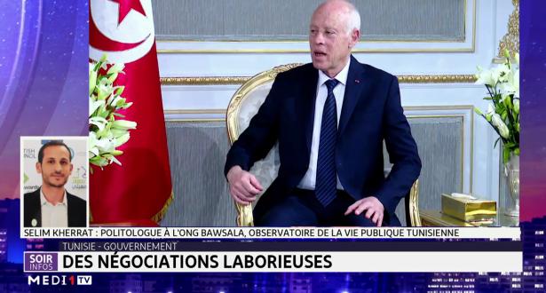 Tunisie-Gouvernement: des négociations laborieuses