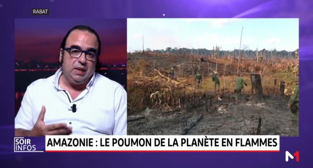 Amazonie: le poumon de la planète en feu