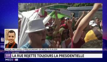 Algérie: la rue rejette la présidentielle
