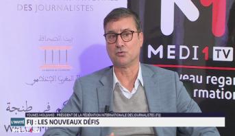 Entretien avec Younes Moujahid, président de la fédération international des journalistes
