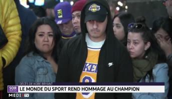 Décès de Kobe Bryant: le monde du sport rend hommage au champion