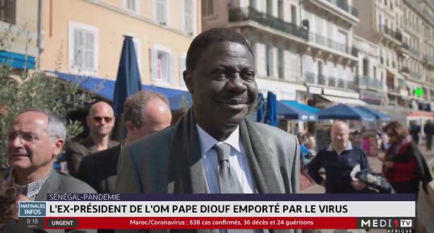 L'ex-président de l'OM Pape Diouf emporté par le coronavirus