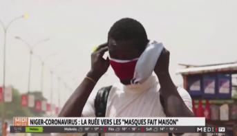 Ruée vers les masques de protection au Niger