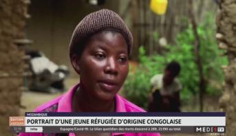 Mozambique: portrait d'une jeune réfugiée d'origine congolaise