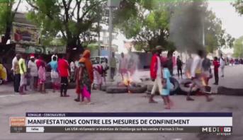 Somalie-Coronavirus: manifestations contre les mesures de confinement