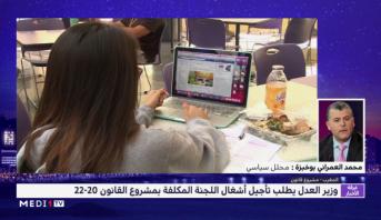 العمراني بوخبزة يعلق على الجدل حول مشروع القانون 22-20