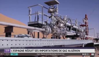Hydrocarbures: l'Espagne réduit ses importations de gaz algérien