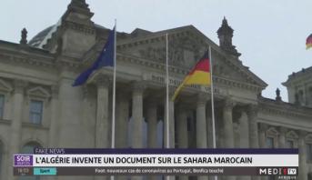 Fake News: l'Algérie invente un document sur le Sahara marocain