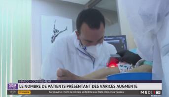 Maroc-Confinement: le nombre de patients présentant des varices augmentent