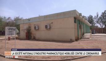 Niger: la Société nationale d'industrie pharmaceutique mobilisée contre le coronavirus
