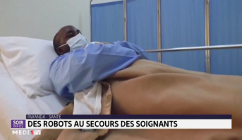 Rwanda-Santé: des robots au secours des soignants