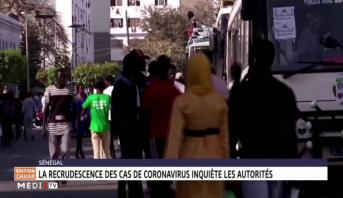 Sénégal: la recrudescence des cas de coronavirus inquiète les autorités