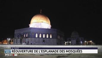 Al Qods: réouverture de l'esplanade des mosquées