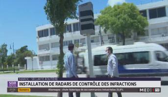 Maroc-Sécurité routière: installation de radars de contrôle des infractions