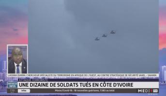 Une dizaine de soldats tués en Côte d'Ivoire
