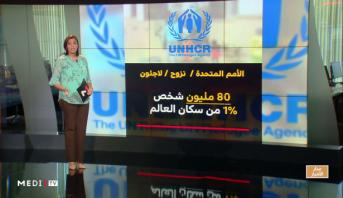 شاشة تفاعلية .. اليوم العالمي للاجئين، أرقام مقلقة وتحديات كبرى