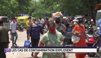 Inde/ Coronavirus: Les cas de contamination explosent