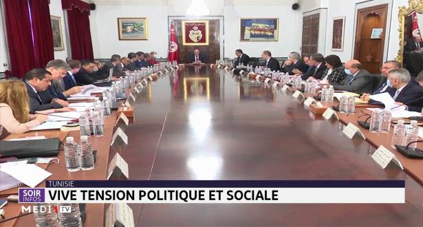 Tunisie: vive tension politique et sociale