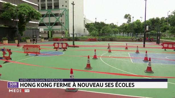 Hong Kong ferme à nouveau ses écoles après un regain épidémique