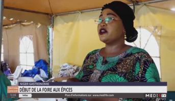 Début de la foire aux épices au Niger