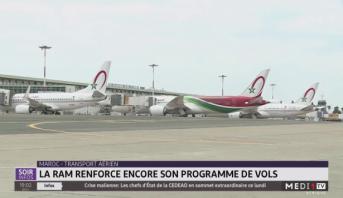 Maroc-transport aérien: la RAM renforce son programme de vols