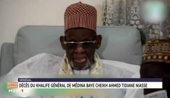 Sénégal: décès du Khalife général de Médina Baye Cheikh Ahmed Tidiane Niasse