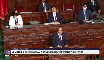 Tunisie-Politique: le vote de confiance au nouveau gouvernement a démarré