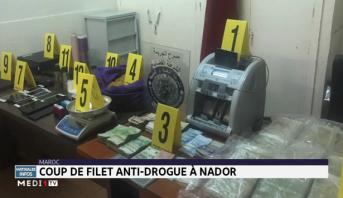 Lutte contre le trafic de drogue: coup de filet antidrogue à Nador